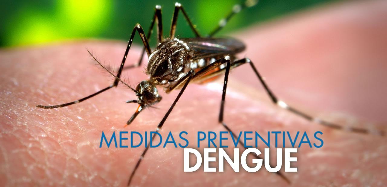 Dengue – Medidas preventivas y manifestaciones clínicas