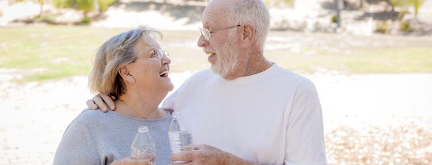 Deshidratación: Riesgo en adultos mayores